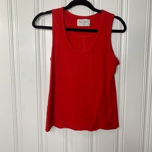 Zara Red Basic TShirt Tank Top Size Medium